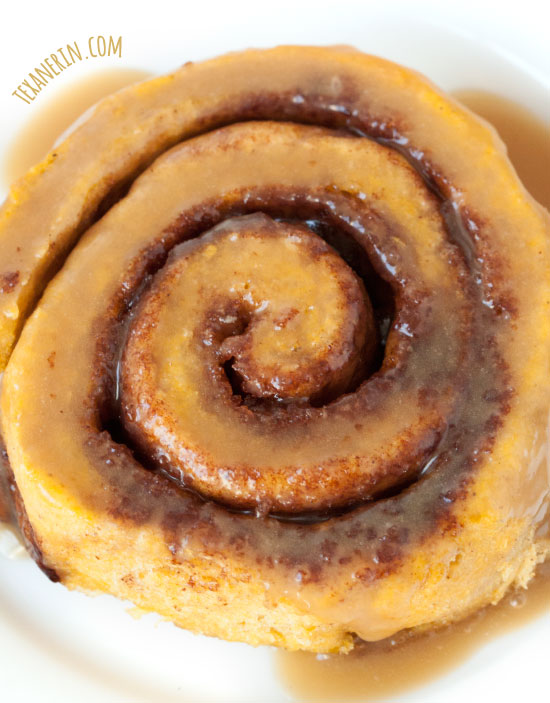 ... be topped with either maple cream cheese frosting or caramel sauce