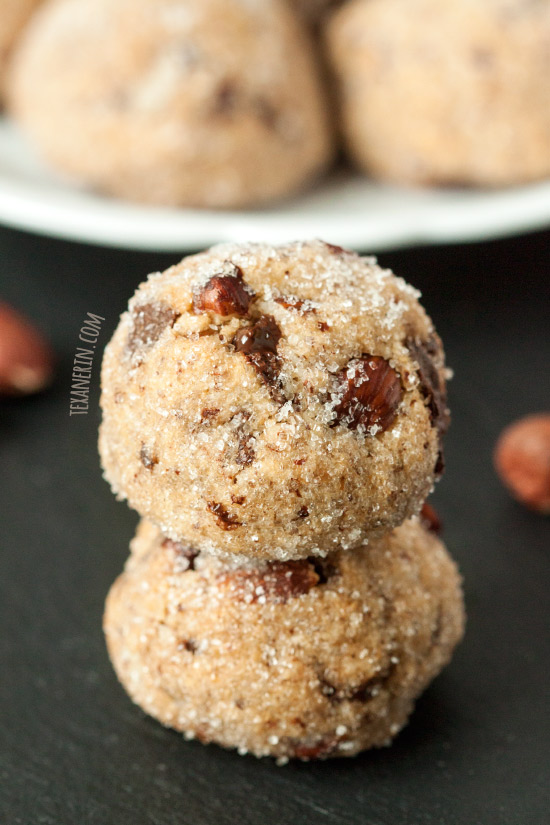 Soft and Chewy Paleo Hazelnut Cookies – vegan, grain-free, gluten-free, dairy-free! #bobsredmill