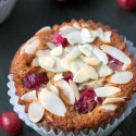 Cranberry Orange Muffins (gluten-free, whole grain, dairy-free)