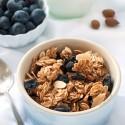 Spiced Blueberry Almond Granola (gluten-free, dairy-free, whole grain)