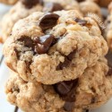 Walnut Chocolate Chip Cookies (vegan, gluten-free, whole grain)