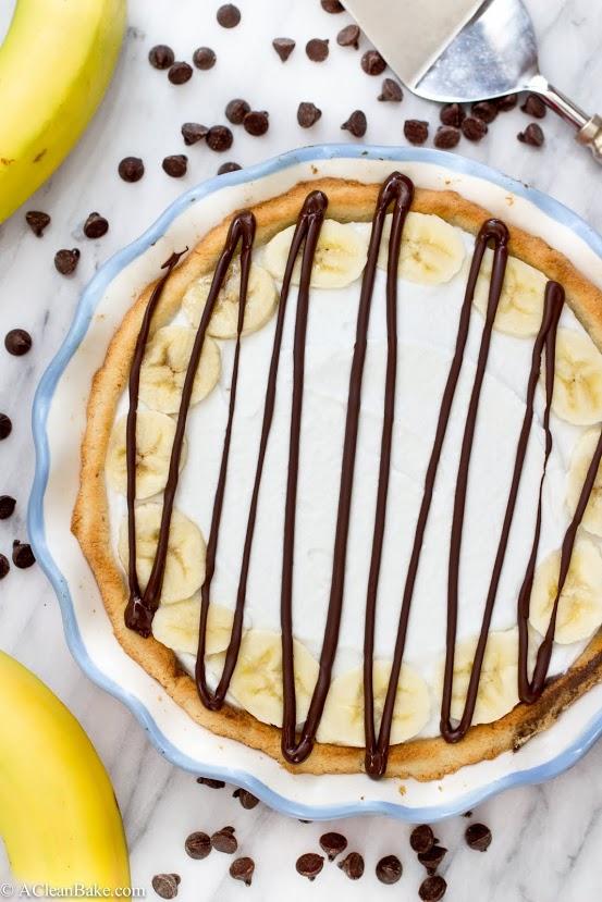 Nutella Banana Cream Pie (grain-free, gluten-free, dairy-free)