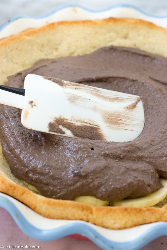 Nutella Banana Cream Pie (grain-free, gluten-free, dairy-free, naturally sweetened)