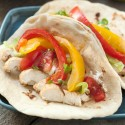 Healthy Chicken Fajitas