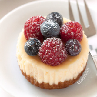 Mini Cheesecakes {grain-free, gluten-free}