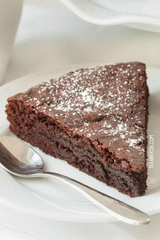 you lot tin notice it inwards simply most every other cafe inwards Sweden Healthier Kladdkaka (grain-free, gluten-free, dairy-free)