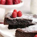 Kladdkaka Recipe (gluten-free, vegan options)