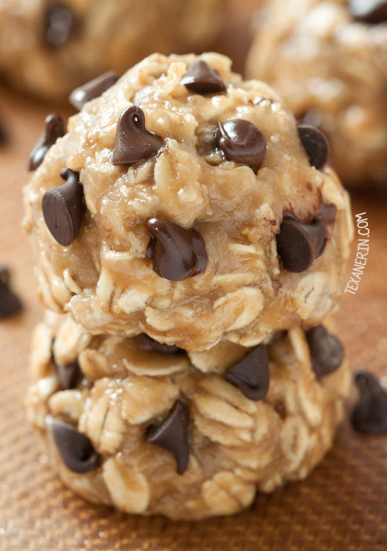 No-bake Peanut Butter Cookies {naturally vegan, gluten-free, dairy-free, 100% whole grain and maple sweetened}