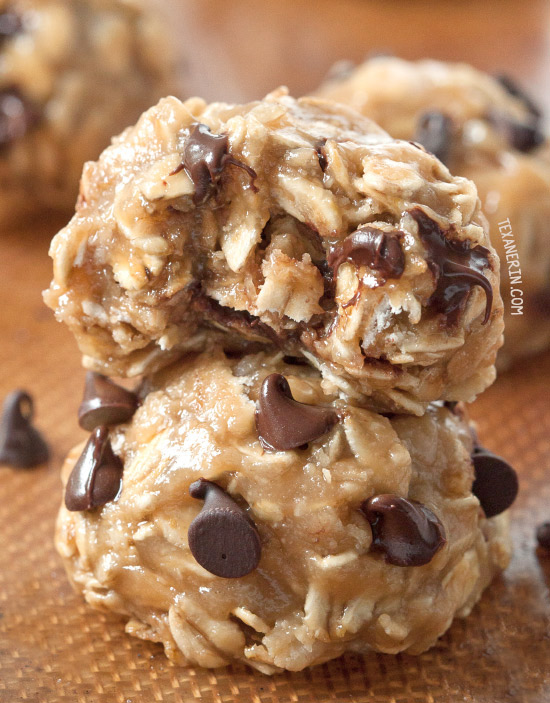 No-bake Peanut Butter Cookies {naturally gluten-free, vegan, dairy-free, 100% whole grain and maple sweetened}