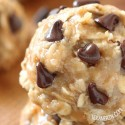 No-bake Peanut Butter Cookies (vegan, gluten-free, whole grain)