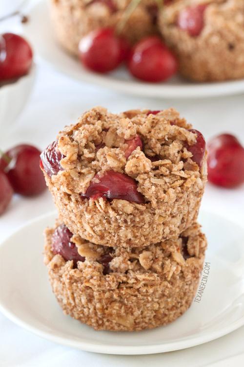 Mini Cherry Pies {gluten-free, vegan, dairy-free, 100% whole grain}