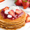 Paleo Pancake Recipe (grain-free, gluten-free, dairy-free)