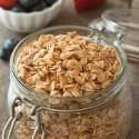Gluten-free Granola (vegan)