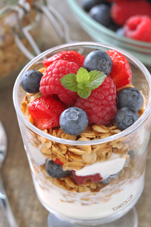 This Gluten-free Vegan Granola is also 100% whole grain and dairy-free!