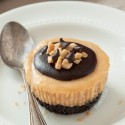 Mini Peanut Butter Cheesecakes (gluten-free, grain-free, whole grain options)