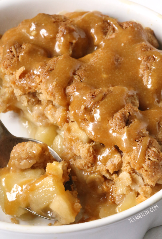 Peanut Butter Apple Crumble {gluten-free, vegan, dairy-free and 100% whole grain}