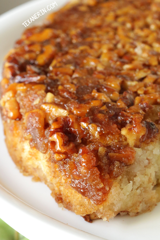 Upside Down Apple Honey Cake (dairy-free with gluten-free and whole ...