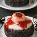 Bloody Eyeball Brownies (paleo, gluten-free)