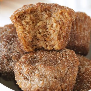 Paleo Cinnamon Sugar Pumpkin Donut Holes (grain-free, gluten-free, dairy-free option)