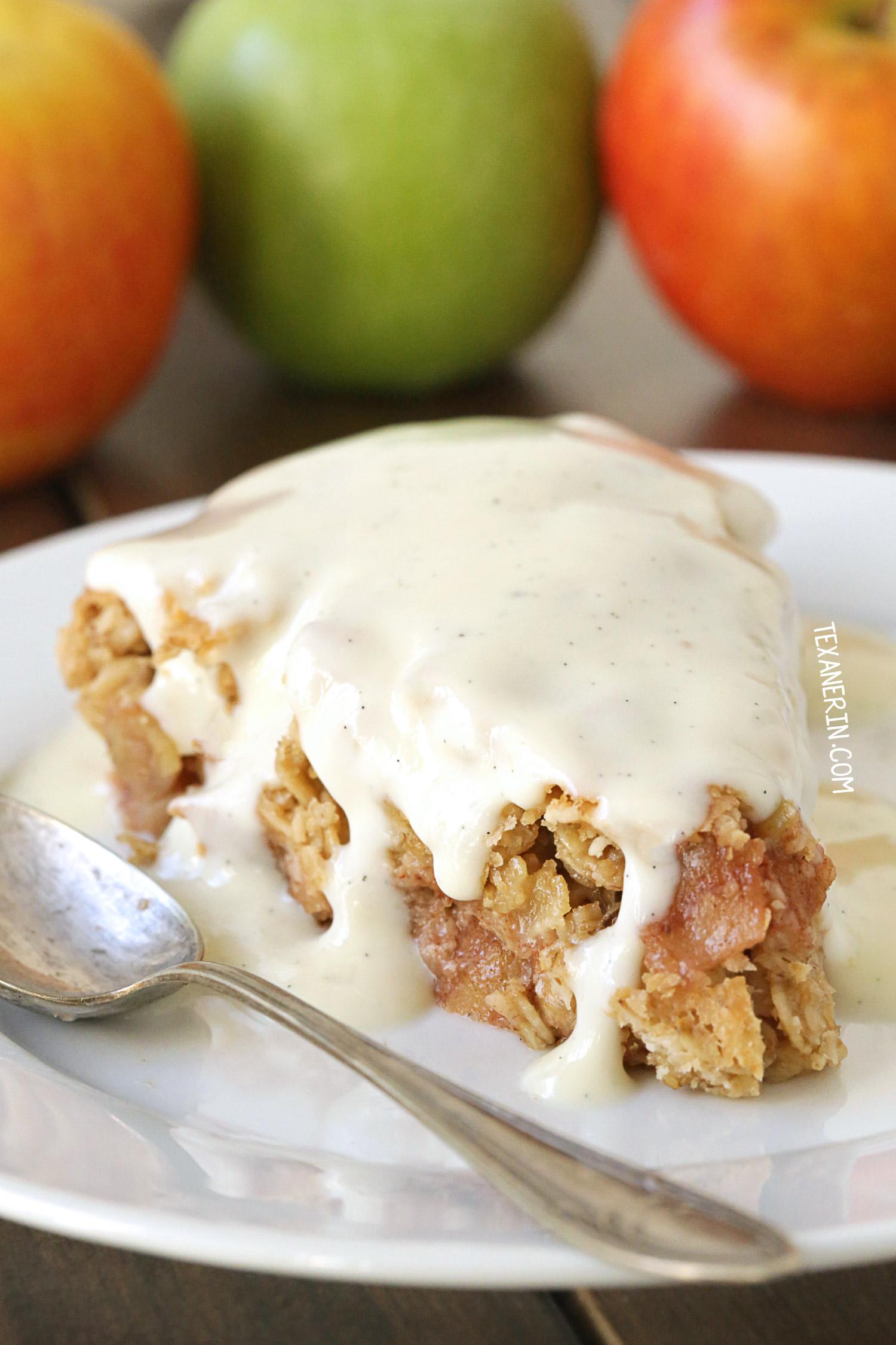 Swedish Apple Pie Gluten Free Vegan Whole Grain Dairy
