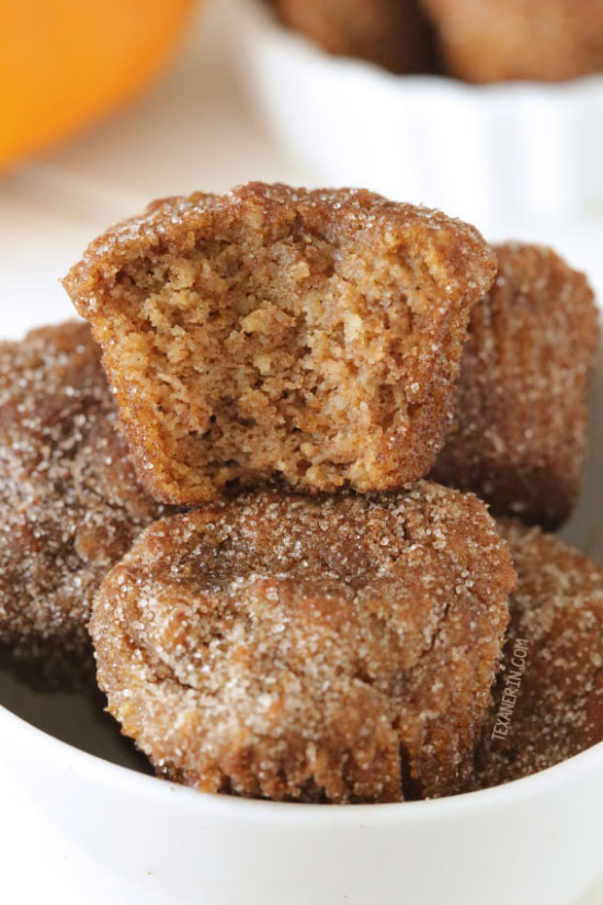 Gluten-free Pumpkin Donuts {grain-free, gluten-free, dairy-free}