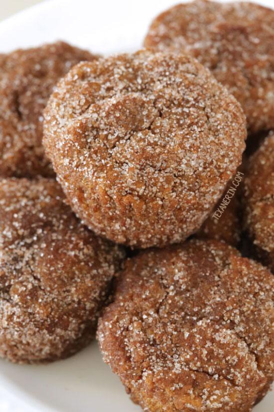 Cinnamon Sugar Pumpkin Donut Holes {paleo, gluten-free, grain-free, dairy-free}