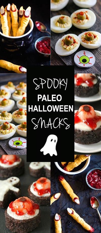 Spooky Halloween Paleo Snacks