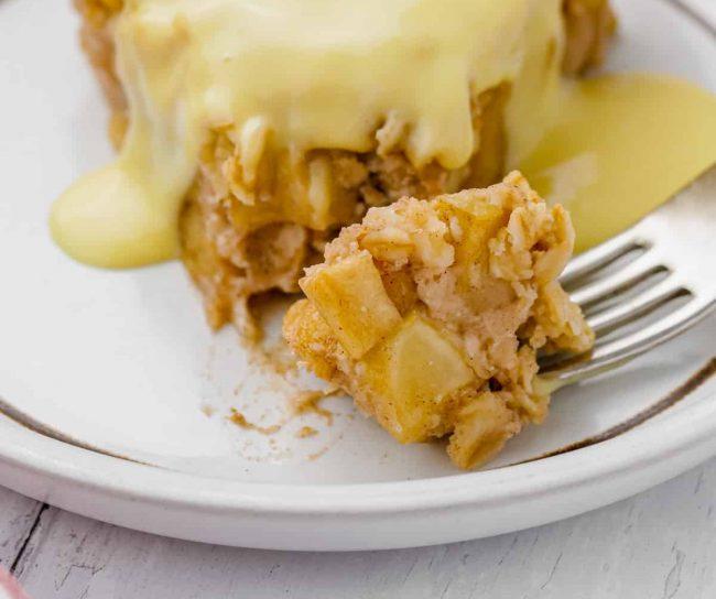 Swedish Apple Pie – Super Quick + Easy!