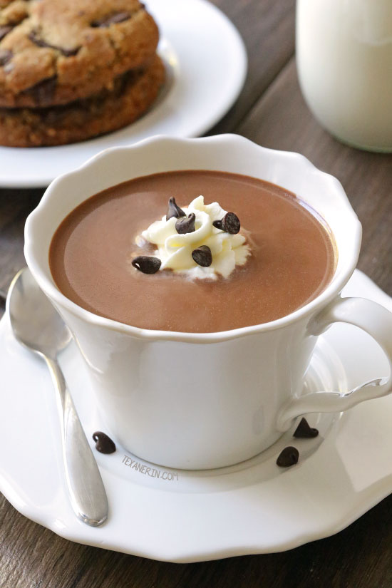 The Ultimate Hot Chocolate {paleo, vegan, dairy-free options}