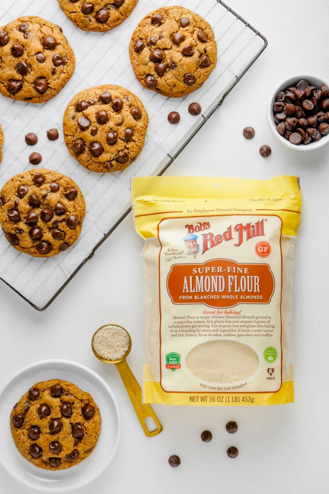 These amazing paleo chocolate chip cookies are thick, chewy and have the perfect texture. Many of the reviewers have called these the best cookies ever and said that nobody had a clue that they were paleo (or even gluten-free)! Vegan and keto options.