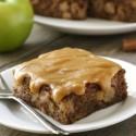 Caramel Apple Cake (gluten-free, whole grain options)