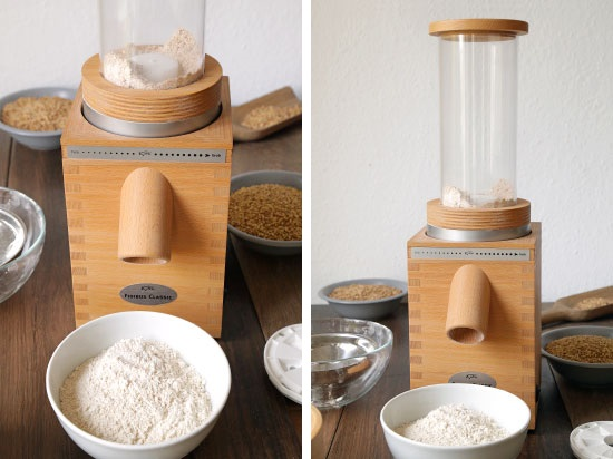 KoMo Fidibus Classic and Electric Flour Sifter