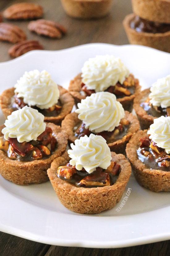 Healthier Mini Pecan Pies {gluten-free, vegan, 100% whole grain, dairy ...