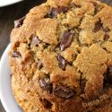 Perfect Paleo Chocolate Chip Cookies (vegan option, grain-free, gluten-free, dairy-free)