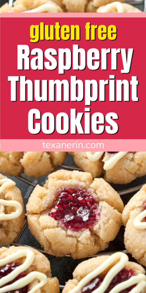 Soft and Chewy Raspberry Thumbprint Cookies – Great with almond or lemon extracts! {grain-free, gluten-free and dairy-free}