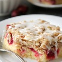 Cranberry Almond Bars (gluten-free, whole grain options)