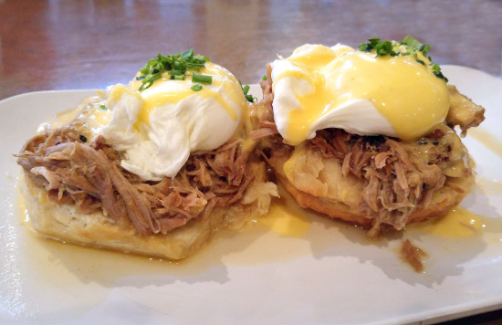 New Orleans: What and Where to Eat – Eggs Cochon at The Ruby Slipper Cafe