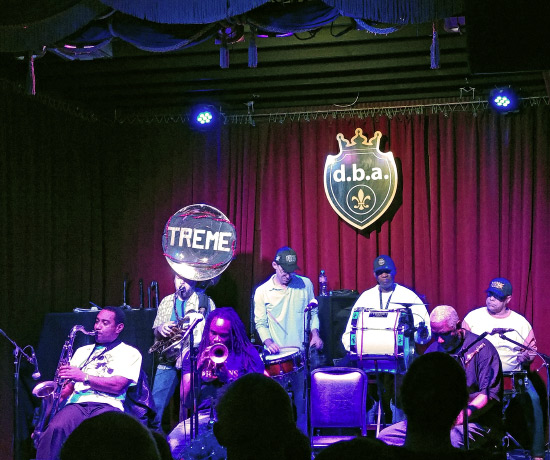 Treme Brass Band at d.b.a