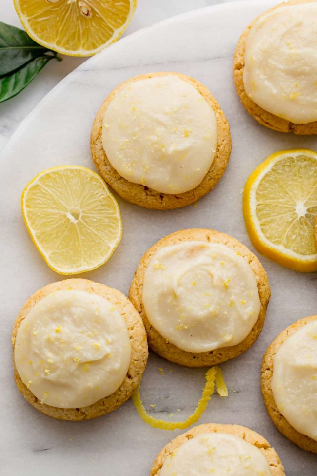 Gluten-free Cookies - Paleo Lemon Cookies