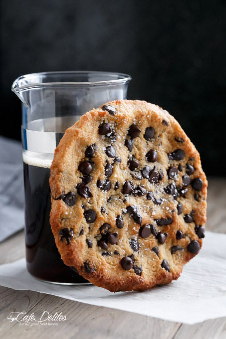 Single Serve Jumbo Chocolate Chip Cookies