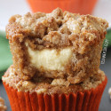 Carrot Cake Cream Cheese Muffins (grain-free, gluten-free)