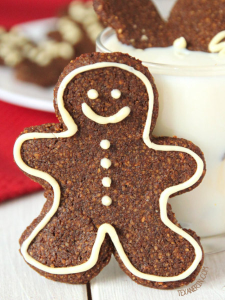 Soft and Chewy Gingerbread Men Cookies