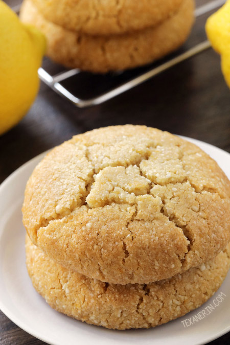 Paleo Vegan Lemon Cookies