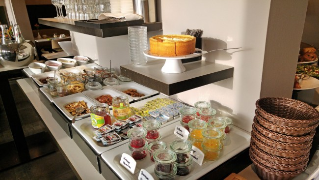 Hotel OTTO Breakfast Buffet – the sweets section