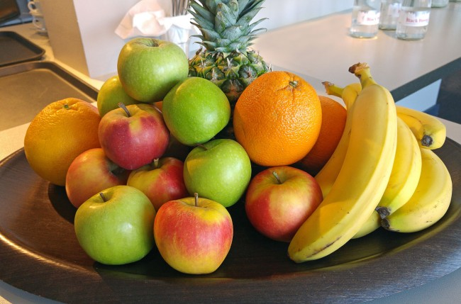 Hotel OTTO – Complimentary Fruit