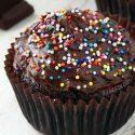 Paleo Chocolate Cupcakes (gluten-free, grain-free, dairy-free)