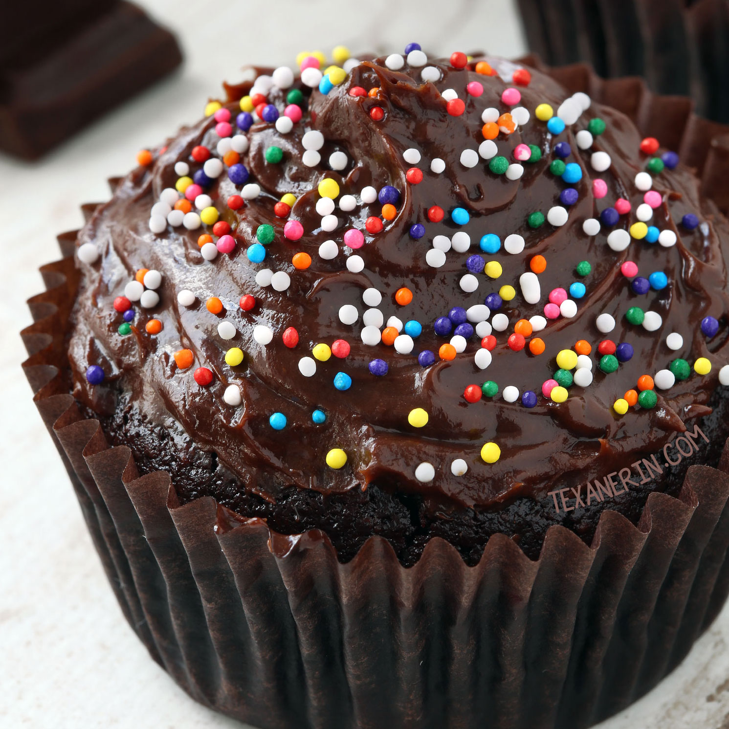 Chocolate Moist Cupcake Ingredients