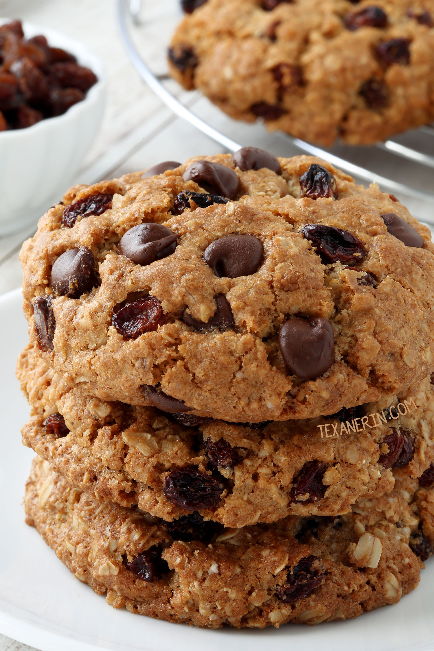 The best ever gluten-free oatmeal cookies