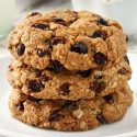 Gluten-free Oatmeal Cookies (vegan option)