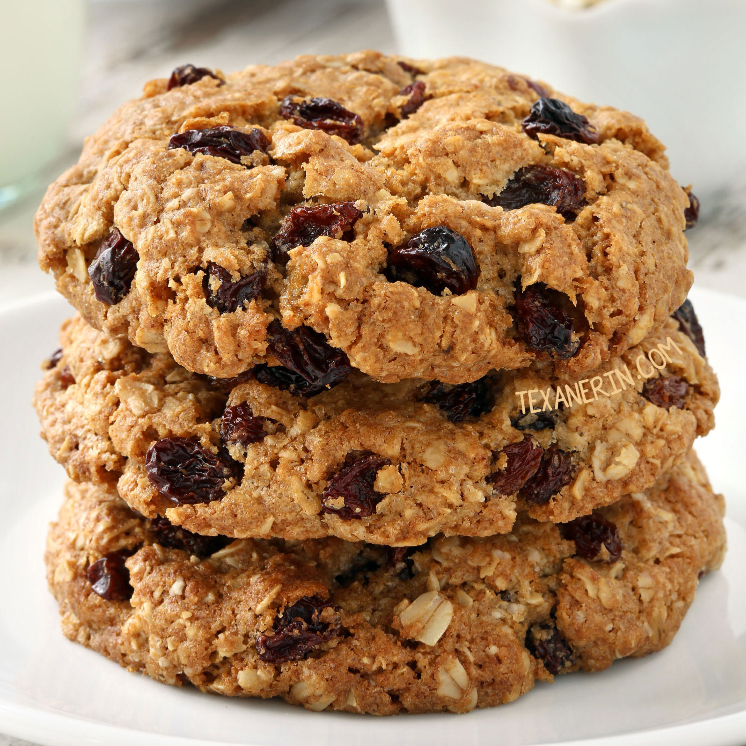 The Best Gluten-free Oatmeal Cookies - Texanerin Baking